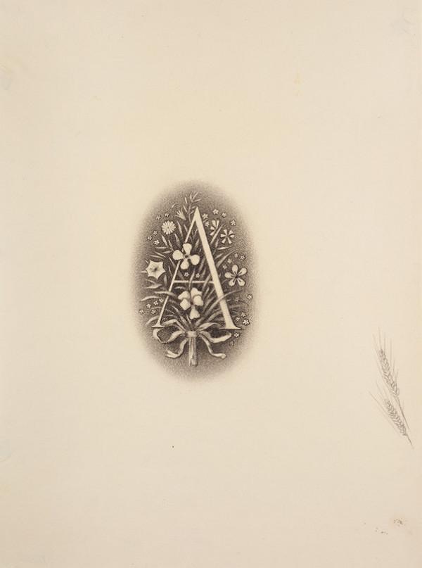 0dc8a791267 Jan Zrzavý - Nakladatelská značka Aventina pro knihu Kytice od Karla  Jaromíra Erbena