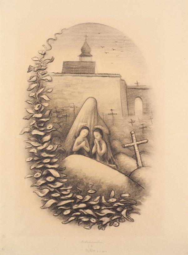 d8040f2a844 Jan Zrzavý - Ilustrace Mateřídouška (Kytice) z Kytice od Karla Jaromíra  Erbena