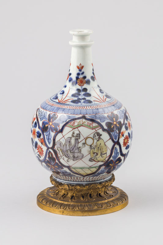 Anonymous artist - Medicine bottle with Baroque brass mounting