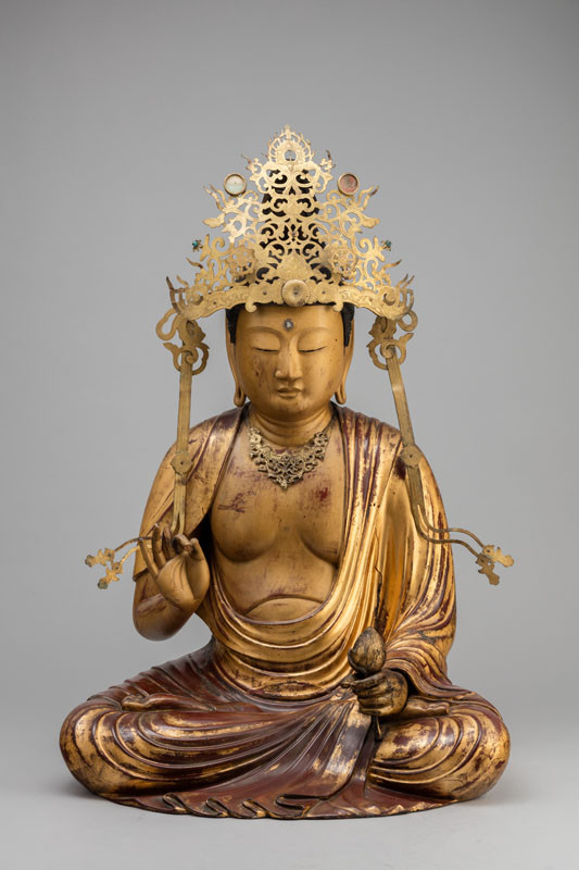 Anonymous - Bodhisattva Kannon with a Lotus Blossom