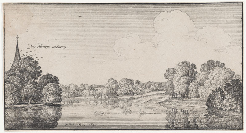 Wenceslaus Hollar - View of Albury