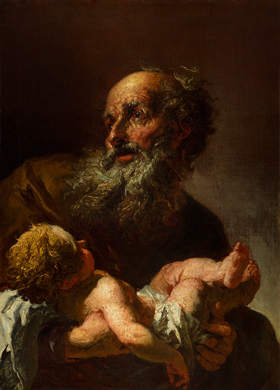 Peter Brandl - Simeon with the Infant Jesus
