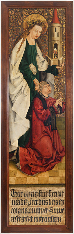 Master of the Altarpiece of the Knights of the Cross with the Red Star - Altarpiece of Nicholas Puchner, Grand Master of the Knights of the Cross with the Red Star, called Puchner Ark