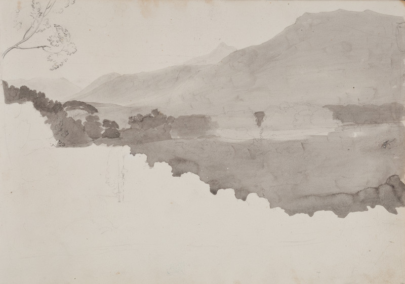 František Tkadlík - Sheet from the Southern Italian Sketchbook - landscape