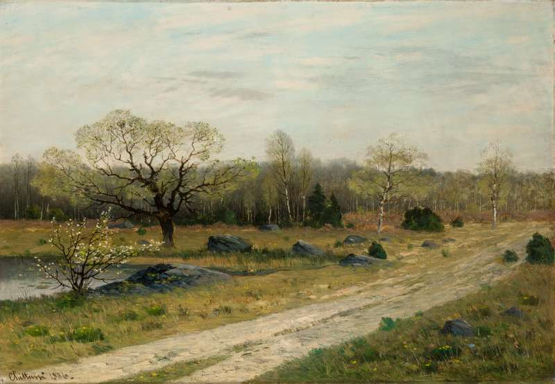 Antonín Chittussi - Spring at Fontainebleau