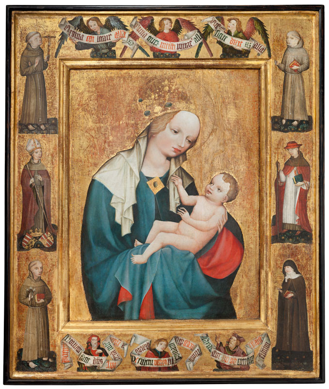 after 1450) Anonymous (Southern Bohemia - Madonna from Krumlov
