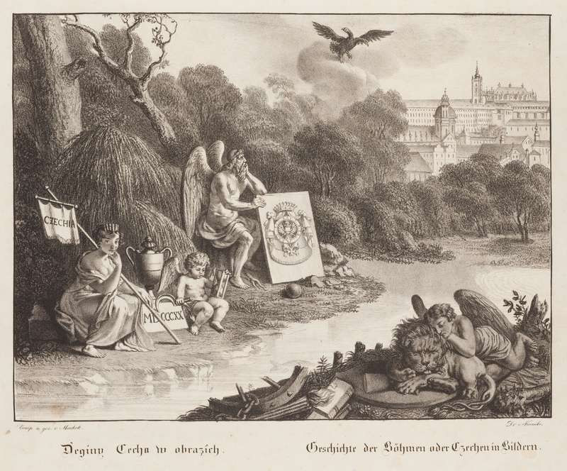 Antonín Machek - History of Bohemia in Pictures (title page)