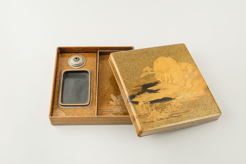 Anonymous - Box for Writing Equipment (Suzuribako) with a Landscape Motif