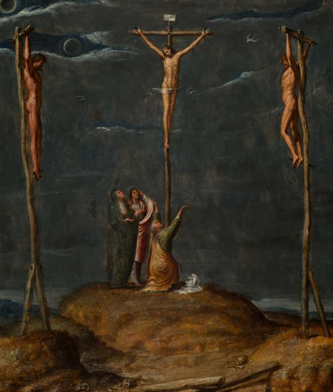 Pieter de Kempener - The Crucifixion