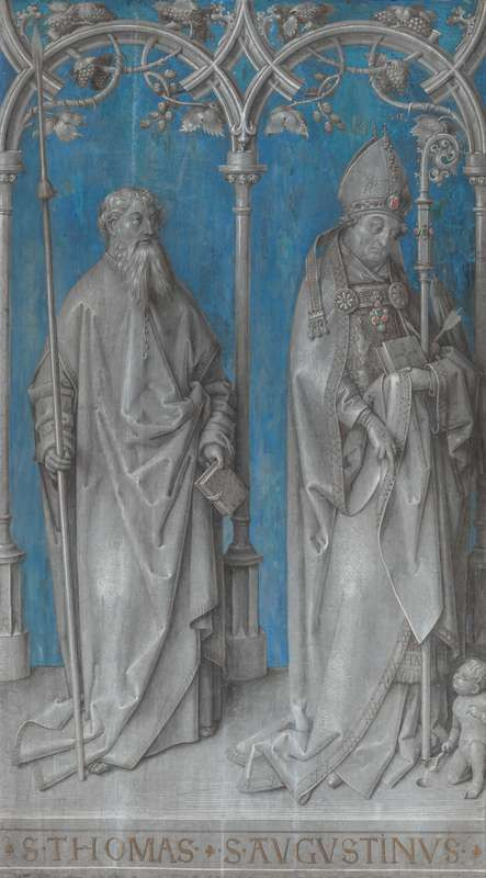 Hans Holbein st. - Left Wing of the Hohenburg Altarpiece
