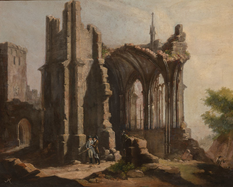 Ludvík Kohl - The Ruin of a Temple