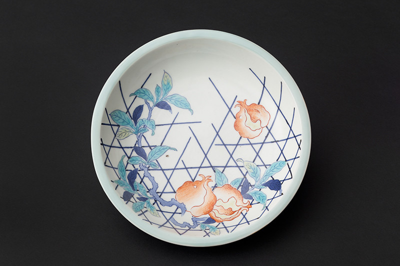 Anonymous - Dish with Pomegranates Motif