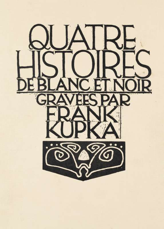 František Kupka - Four Stories in White and Black
