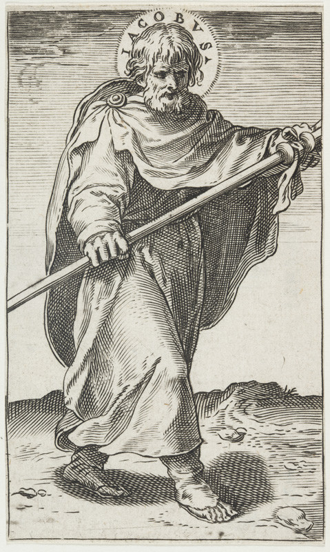 Agostino Carracci - engraver - St James