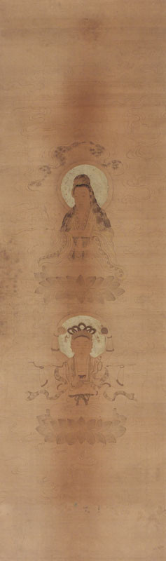 Unknown - Two Forms of Goddess Guanyin