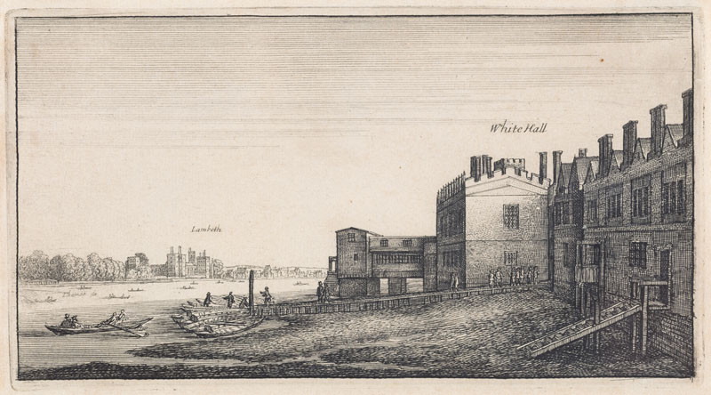 Wenceslaus Hollar - View of White Hall