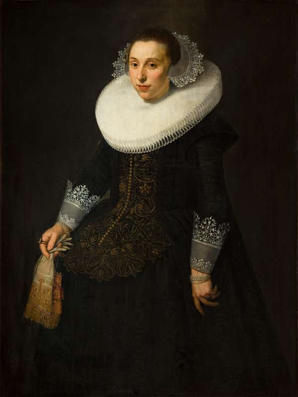 Nicolaes Eliasz Pickenoy - Portrait of a Lady