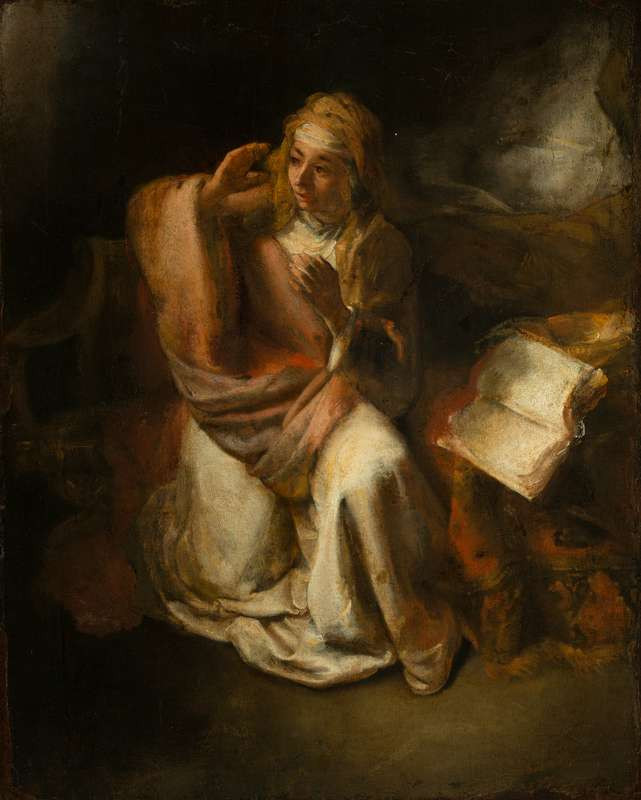 Willem Drost - The Annunciation