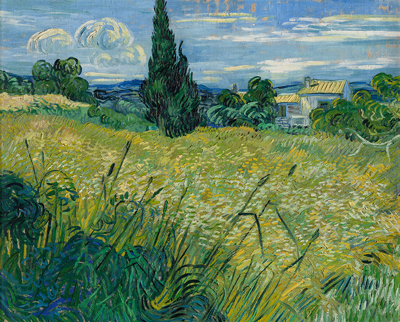 Vincent van Gogh - Green Wheat