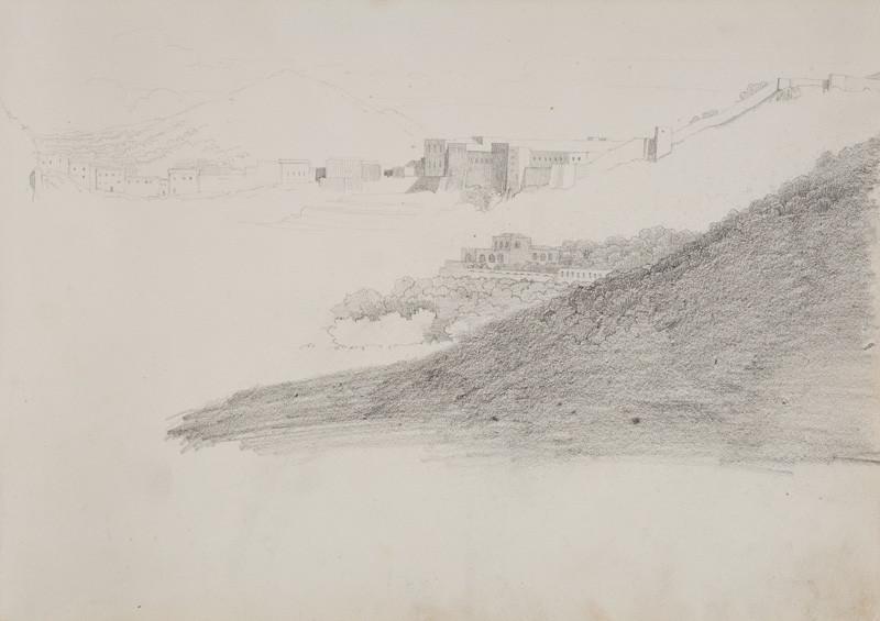 Frantisek Tkadlik Skicar Z Jizni Italie Studie Krajiny A Kresba