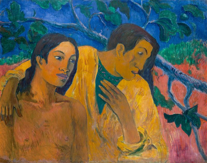 Paul Gauguin – Útěk (Tahitská idyla), 1902, Narodní galerie v Prahe