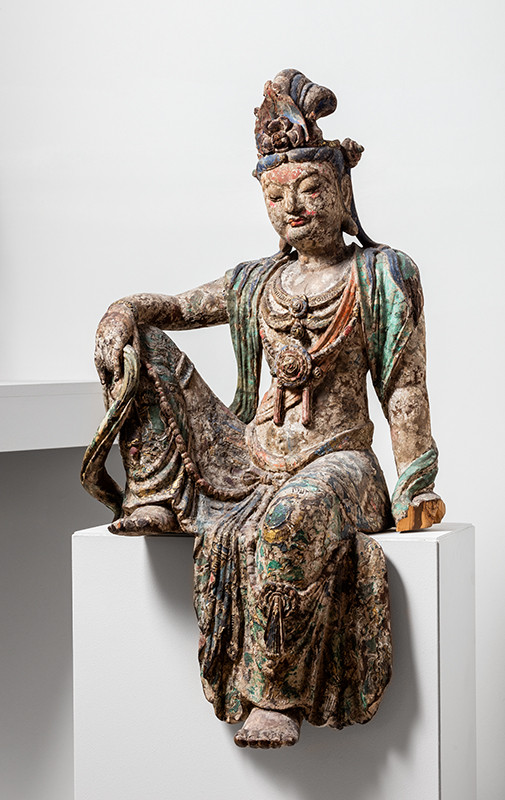 Anonymous - Bodhisattva Guanyin Seated in