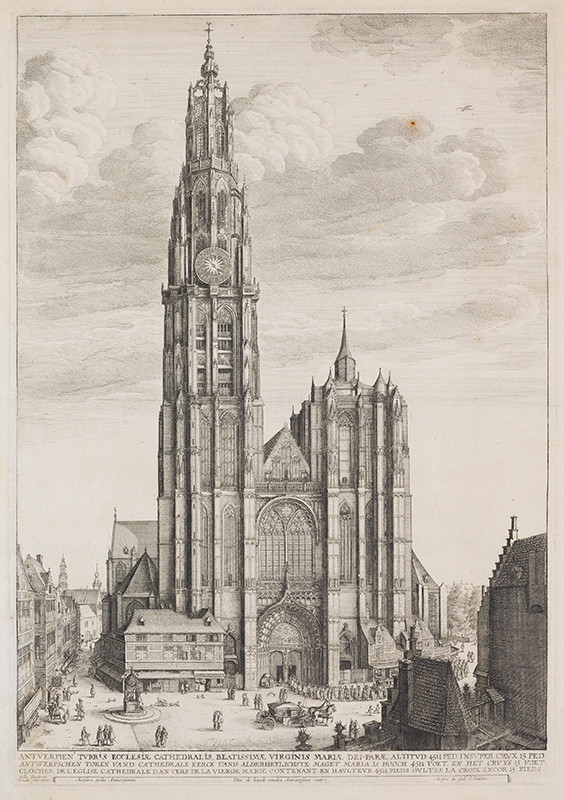 Wenceslaus Hollar - Antwerp Cathedral