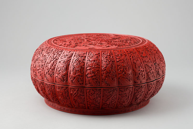 Anonymous - Chrysanthemum-Shaped Box with Lid