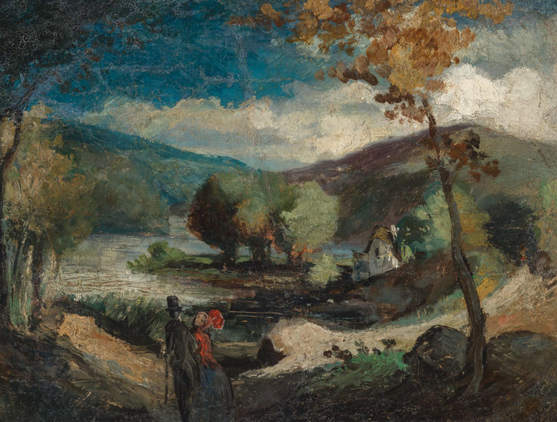 Karel Purkyně - In the Valley (Landscape)
