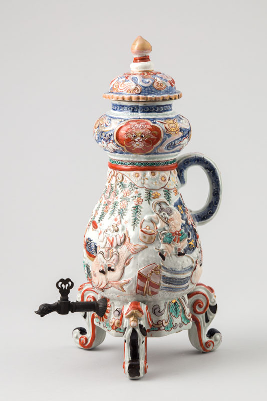 Anonymous - Coffee Pot with a Relief of Seven Gods of Fortune