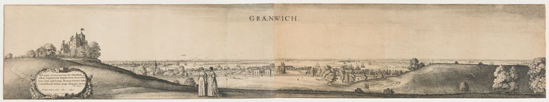 Wenceslaus Hollar - View of Greenwich
