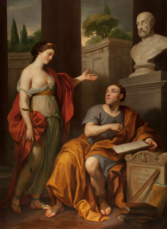 Anton Raphael Mengs - Architect and His Muse. Portrait of James Caulfield, Lord Charlemont