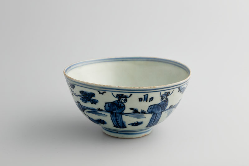 unknown - Bowl decorated with literati